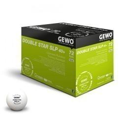 plastikowe piłeczki GEWO Double Star SLP 40+ 120 szt